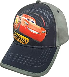 Disney Cars Little Boys Toddler Lightning McQueen Baseball Hat