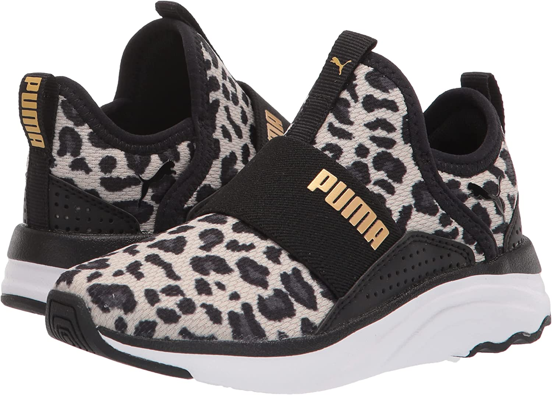 PUMA Unisex-Child Softride Sophia Slip on Running Shoe