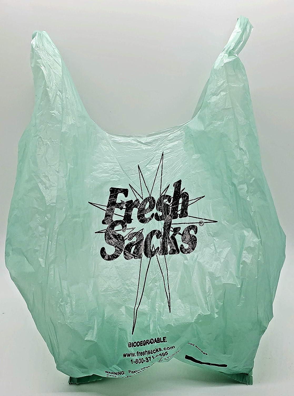 Fresh Sacks Biodegradable Diaper Disposal Bags, Roll of 250