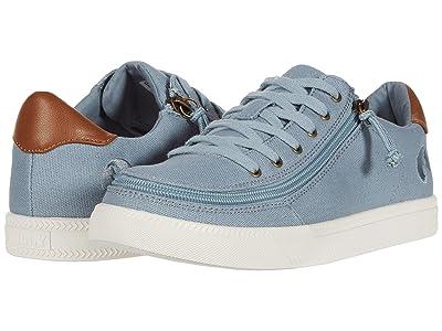 BILLY Footwear Classic Lo (Storm Blue/White) Women