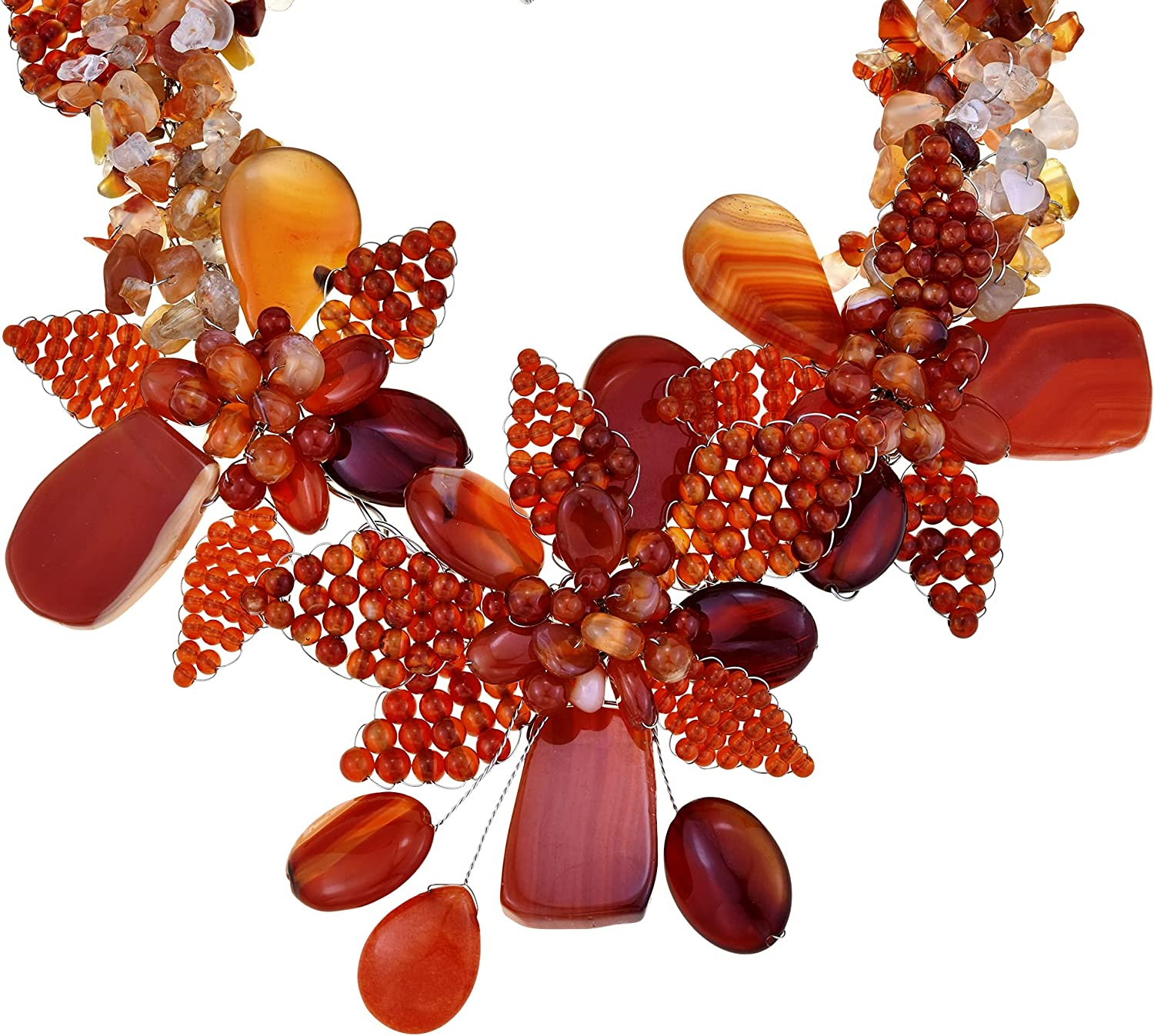 Breathtaking Super popular specialty store Orange Marigold Bouquet Bargain and Reconstructed Carnelian