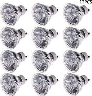 LOCOLO 12-Pack 25 Watt Replacement Bulb for Candle Warmer, Scent Wax Tart Burner, Fragrance Melt Candle Warmer Light Bulbs, Halogen GU10 110-130V