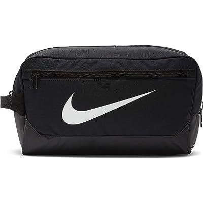 Nike 11 L Brasilia Shoe 9.0 (Black/Black/White) Bags