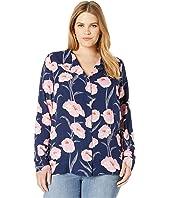 Plus Size Emelie Veronica Long Sleeve Shirt