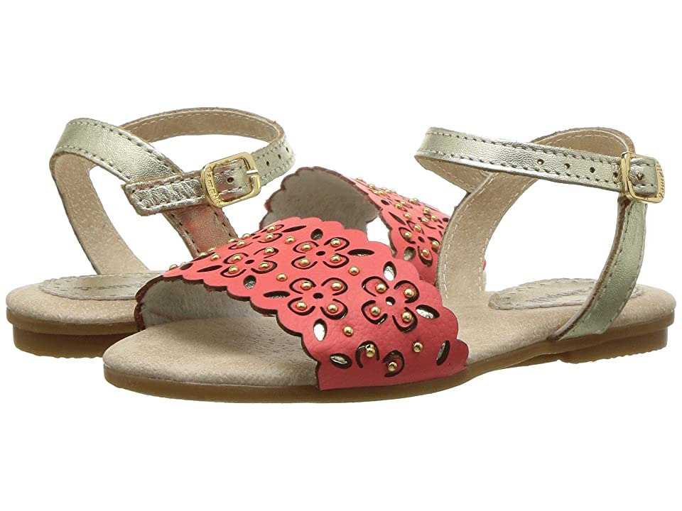 Pampili 206116 (Toddler/Little Kid) (Coral/Gold) Girl