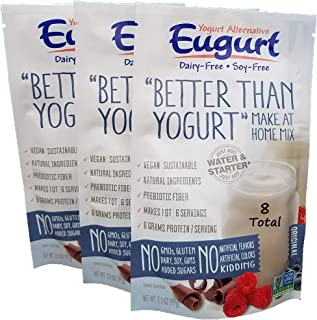 """Better Than Yogurt"" Make At Home Mix (Dairy and Soy Free!) (Plain, 8-Pack)"