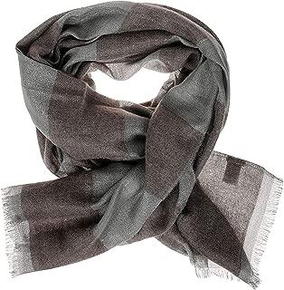 Luxury Fashion | Brunello Cucinelli Womens MSCDAR066C079 Grey Scarf | Season Permanent