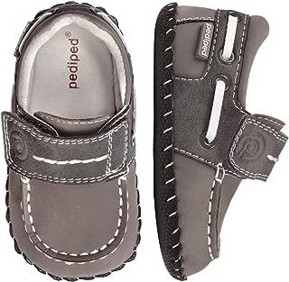 pediped Originals Norm Boat Shoe (Infant)