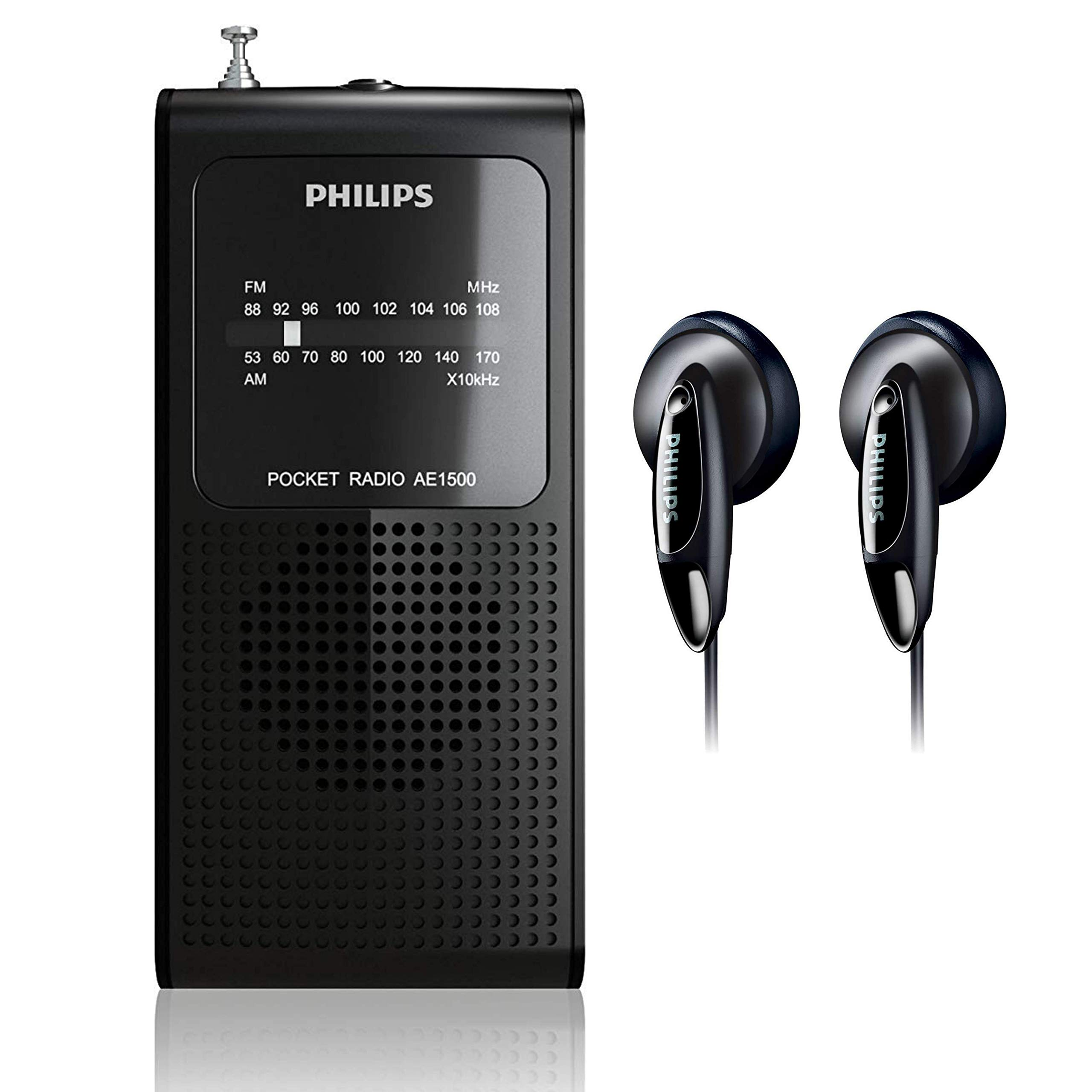 Philips Operated Portable Transistor Headphones