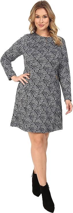 Plus Size Woodbrook Zip Seam Flare Dress