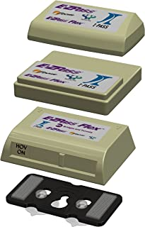JL Safety EZ Flex-Port, Black Holder for EZPass Flex and standard EZ Pass/I Pass and OLD. Holder only. Fits boxes shown in pictures. Patent Pending &. Made in USA.