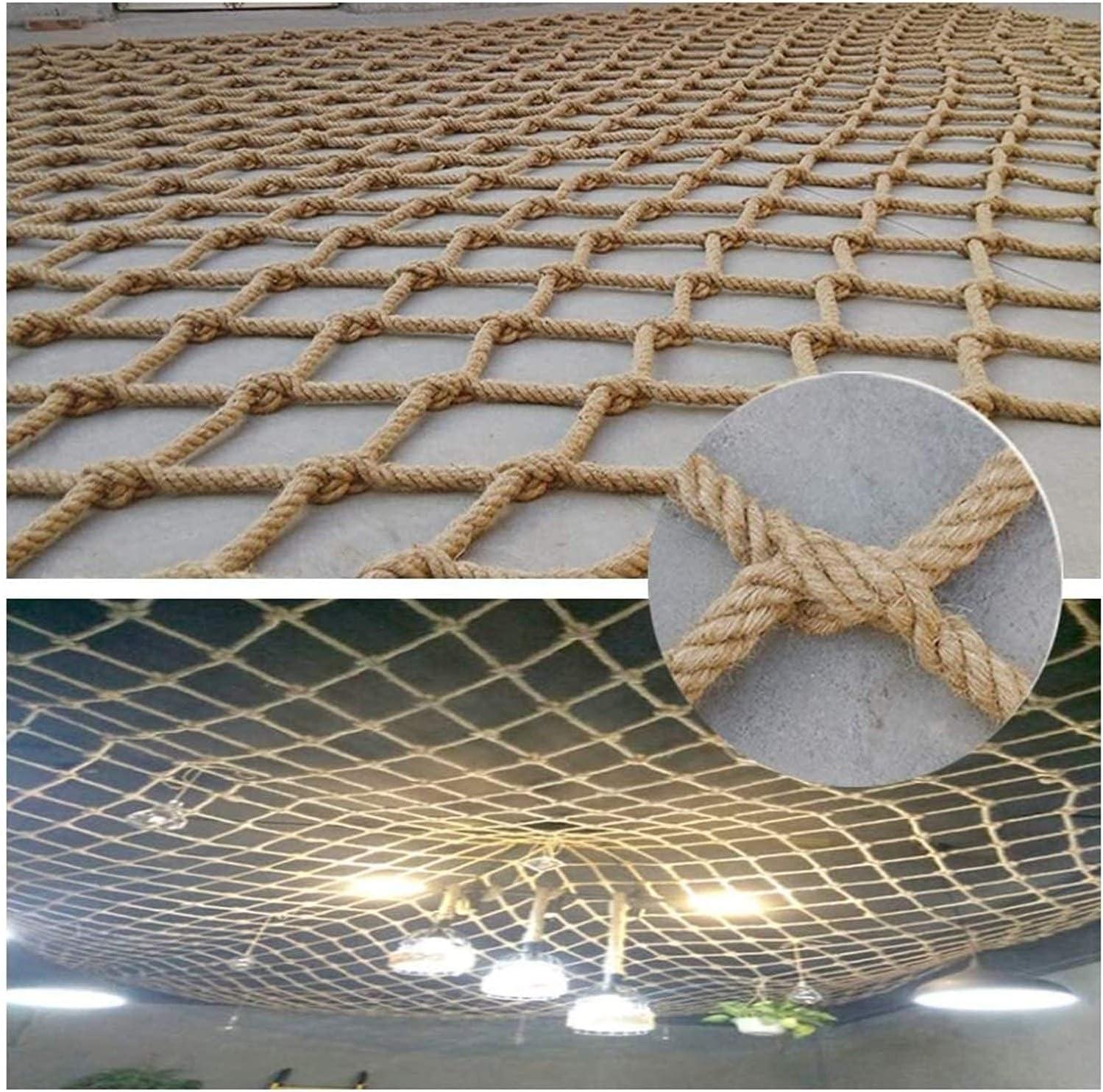 Rope Netting Limited price New Free Shipping Heavy Duty Outdoor Railing Decor Ne Hemp Cargo