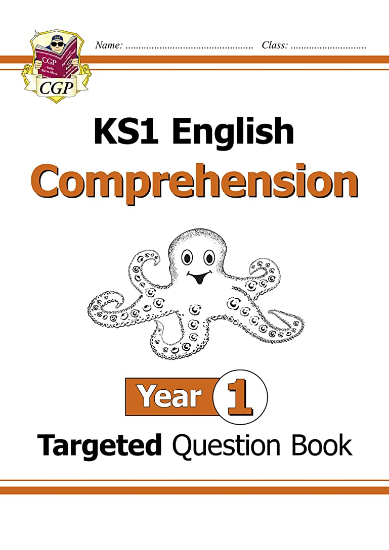 悲惨なモードリンデモンストレーションNew KS1 English Targeted Question Book: Comprehension - Year 1 (CGP KS1 English) (English Edition)