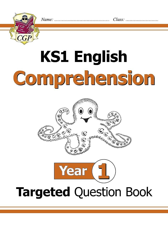 ヘッドレスケント破壊的New KS1 English Targeted Question Book: Comprehension - Year 1 (CGP KS1 English) (English Edition)