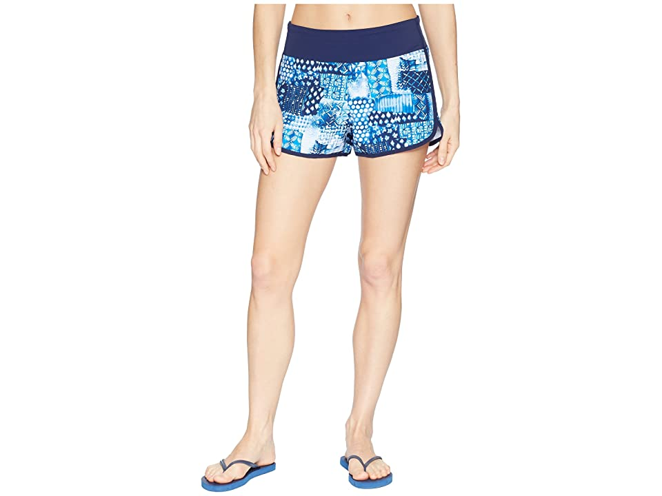 Tommy Bahama Active Patchwork Pull-On Shorts Cover-Up (Mare Navy) Women