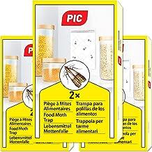 PIC mat-malfälla - Trepack = 6 stycken - är verksam mot alla sorters matmal, exempelvis indisk mjölmott, kvarnmott och man...