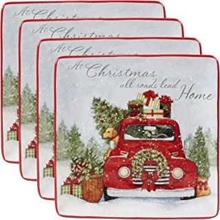 Certified International 22780SET4 Home for Christmas 10.5