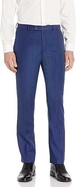 Perry Ellis Slim Fit Blue Pin Dot Suit Separate Trouser