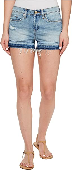 Blank NYC - Denim Shorts with Released Hem in Ride It Out