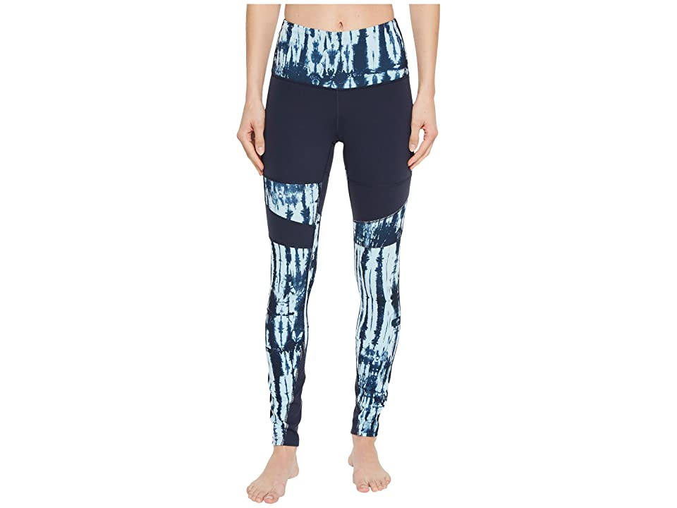 The North Face Motivation High-Rise Printed Tights (Urban Navy/Urban Navy Shibori Print) Women