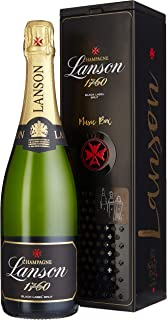 Lanson Black Label in Geschenkdose portable musicbox Champagner 1 x 0.75 l