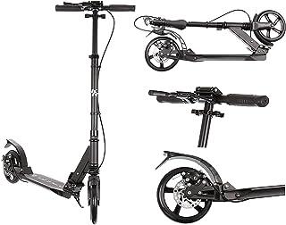 Kruzzel Roller Kickscooter Tretroller Cityroller ABEC9 Gummi