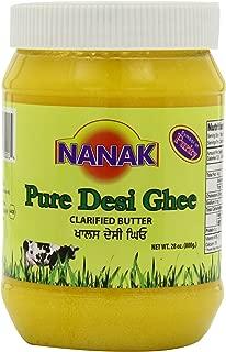 Nanak Pure Desi Ghee, Clarified Butter, 28-Ounce Jar