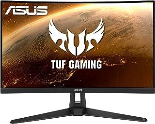 ASUS TUF Gaming VG27VH1B Gaming Monitor –27 inch Full HD (1920x1080), 165Hz (above 144Hz), Extreme Low Motion Blur, Adapti...