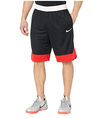 Nike Dry Icon Shorts (Black/University Red/White) Men