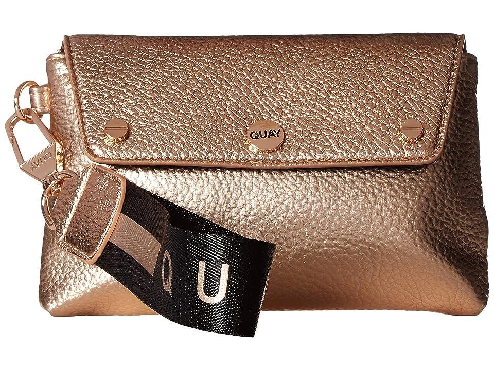 QUAY AUSTRALIA Wristlet (Rose/Rose) Handbags