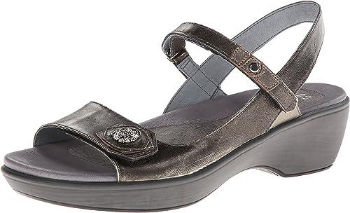 Naot damen& 039;s Reserve Dress Sandal, Metal, 42 EU 11 M US