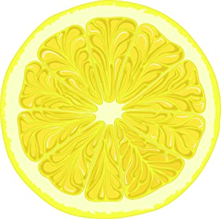 cartoon lemon slice