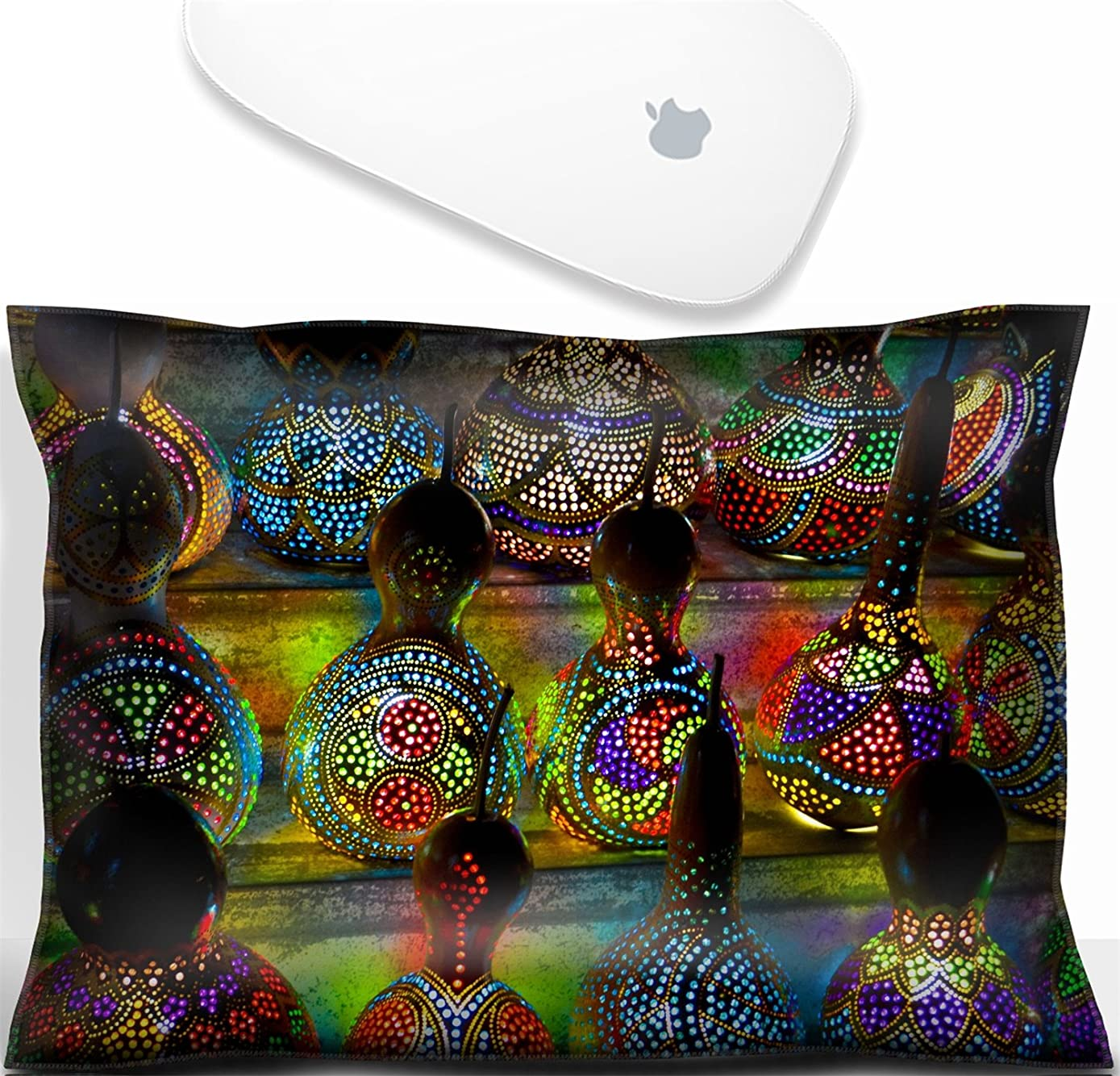 Luxlady Mouse Wrist Rest Office Decor Wrist Supporter Pillow IMAGE: 22182795 Turkish Lamps at the Market in Istanbul Turkey