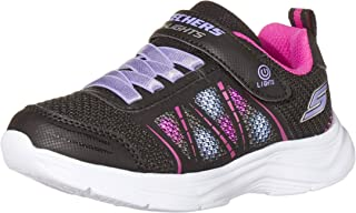 Skechers Glimmer Kicks Shimmy Brights, Basket Fille