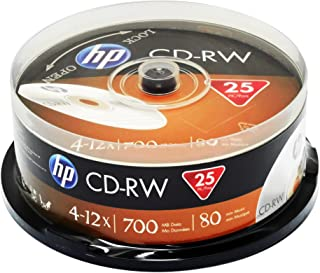 HP CD-RW 12X IN 25PK CAKE BOX