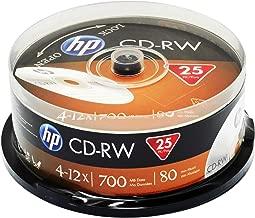 HP CD-RW 12X IN 25PK CAKE BOX