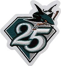 2015 San Jose Sharks Team 25th Anniversary Season Logo Jersey Patch