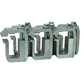 set of 6 Camper Shell on Ford Super Duty G-991 Clamp for Truck Cap GCI