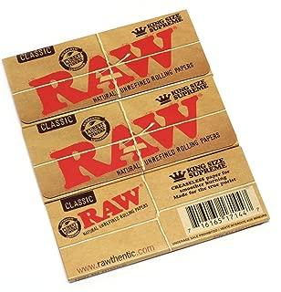 creaseless classic raw king size supreme