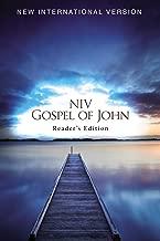 NIV, Gospel of John, Reader's Edition, 25 Pack