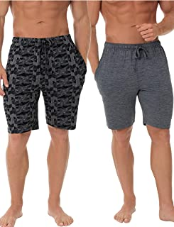 Men's Knit Performance 2 Pack Soft Touch Wicking Sleep Short