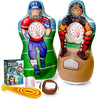 inflatable football target game