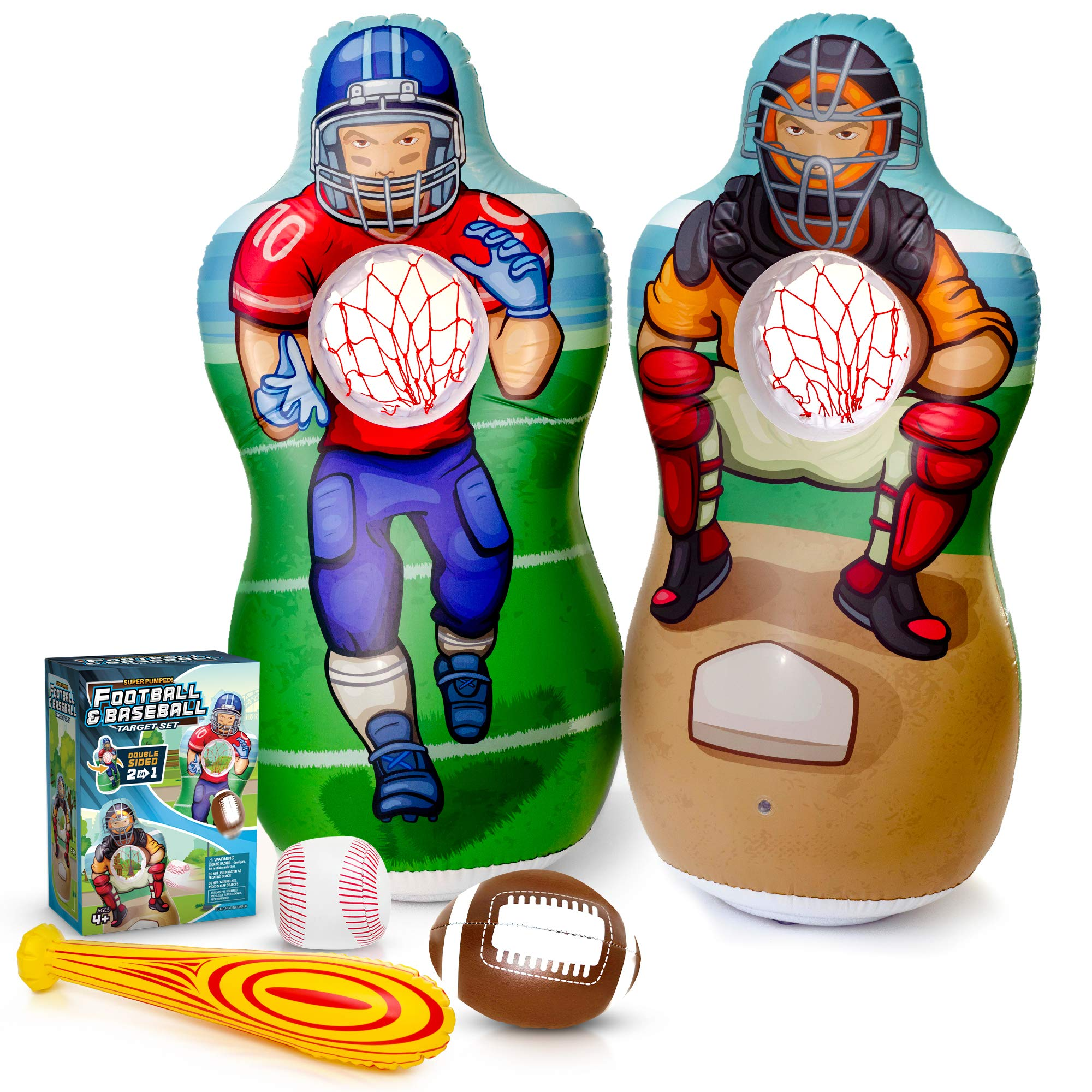 Super Pumped Inflatable Baseball Football