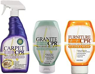 CPR Combo Packs and Sizes (3 Pack, Carpet, Granite, Furniture)