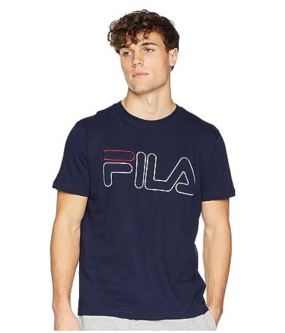 Fila Borough T-Shirt (Navy/White/Red) Men