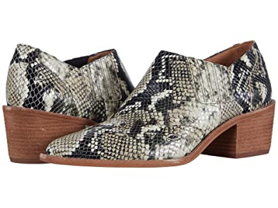 Madewell Cline Western Bootie (Heather Natural Multi) Women