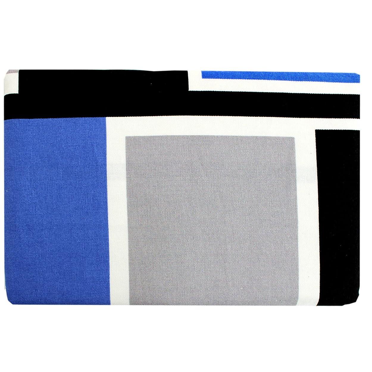 大宿泊祈りメリーナイト 綿100% 枕カバー 「スマート」 43×63cm ネイビー MN61050-72