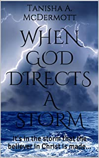 When God Directs a Storm: It's in the storm that the believer in Christ is made...