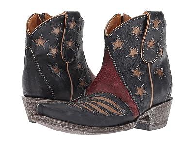 Old Gringo United Short (Blue/Red) Cowboy Boots