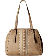 American West - El Dorado Multi Compartment Satchel Tote